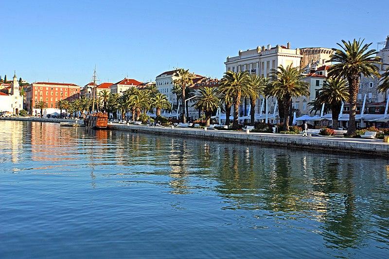 Split, Croatia - All seasons 11 days Croatia and Bosnia UNESCO sites tour from Zagreb to Dubrovnik. Monterrasol Travel private car tour.