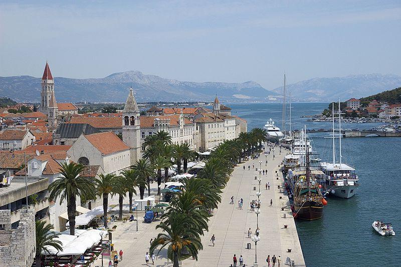 Trogir, Croatia - Discover Croatia + Bosnia in 7 days all seasons tour from Zagreb to Dubrovnik. Monterrasol Travel private minivan tour.
