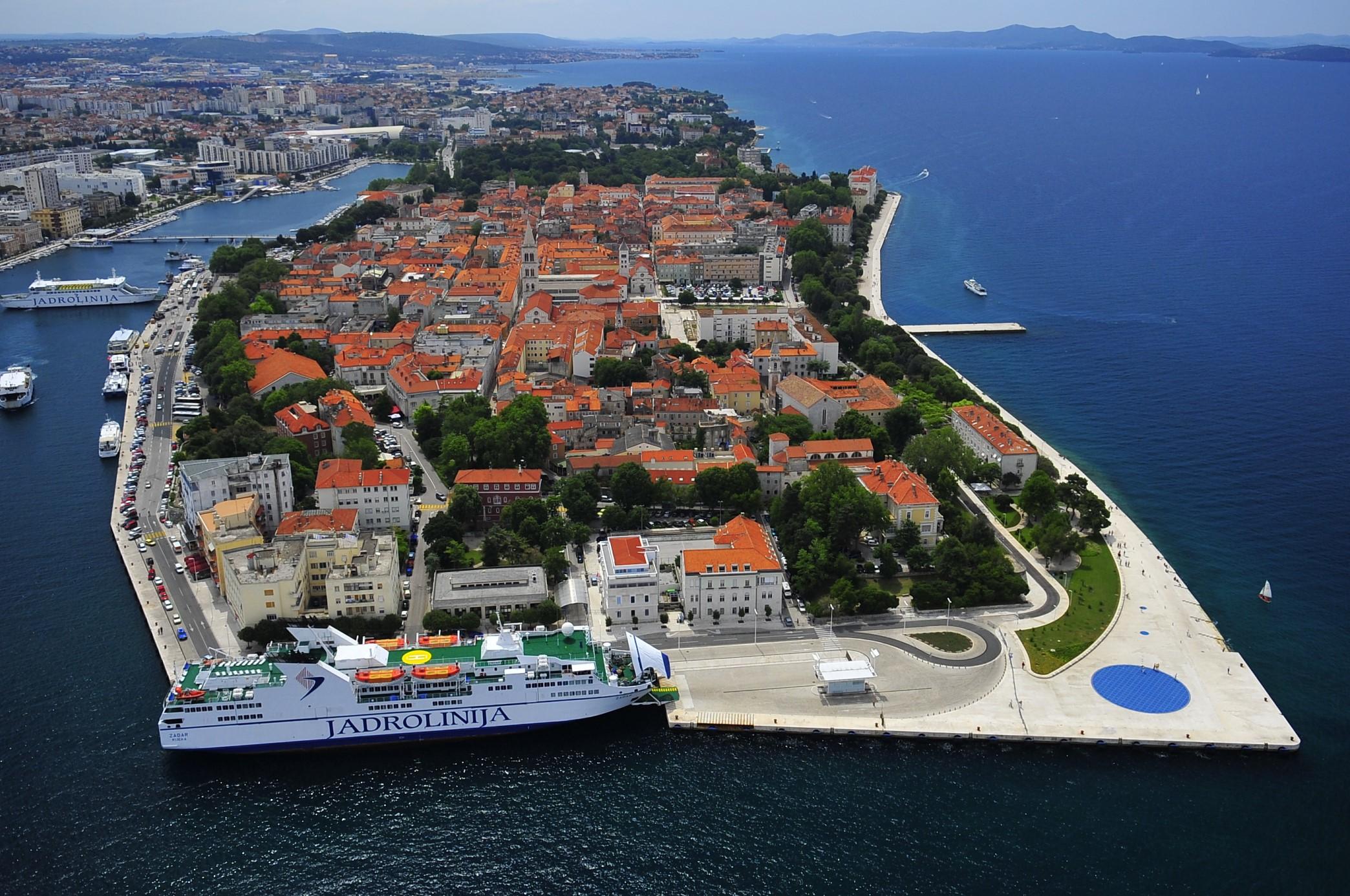 Zadar, Croatia - Monterrasol private tours to Zadar, Croatia. Travel agency offers custom private car tours to see Zadar in Croatia. Order custom private tour to Zadar with departure date on request.
