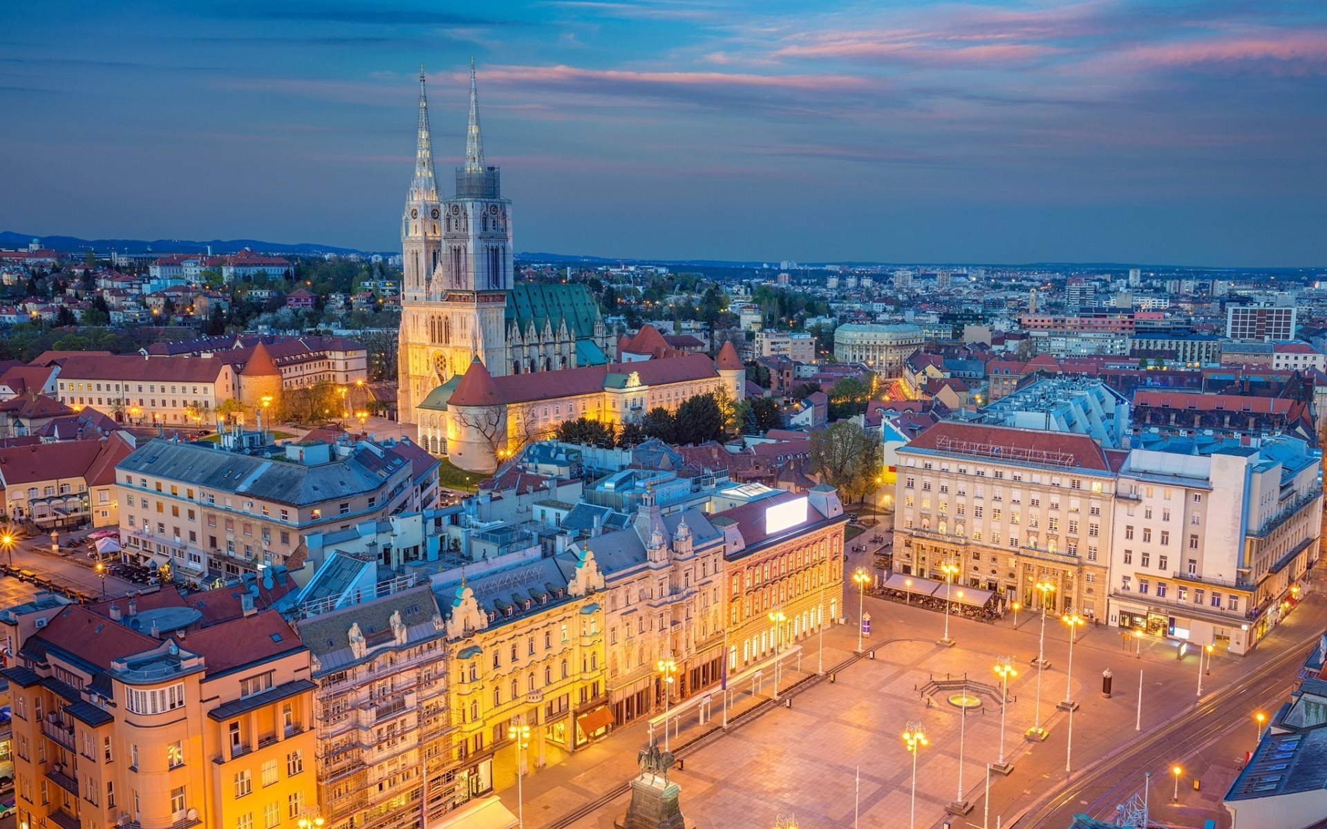 Zagreb, Croatia - Monterrasol private tours to Zagreb, Croatia. Travel agency offers custom private car tours to see Zagreb in Croatia. Order custom private tour to Zagreb with departure date on request.