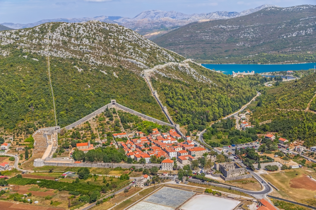 Ston, Croatia - Monterrasol private tours to Ston, Croatia. Travel agency offers custom private car tours to see Ston in Croatia. Order custom private tour to Ston with departure date on request.