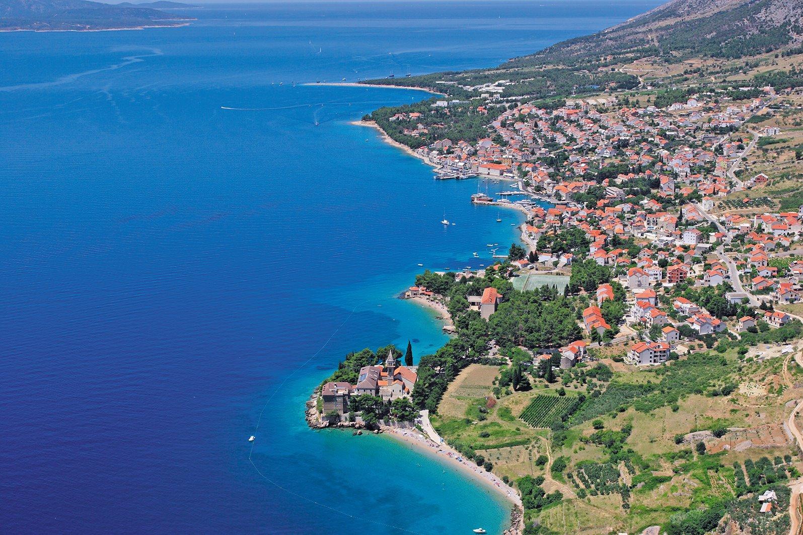 Brač (Brac), Croatia - Monterrasol private tours to Brač (Brac), Croatia. Travel agency offers custom private car tours to see Brač (Brac) in Croatia. Order custom private tour to Brač (Brac) with departure date on request.