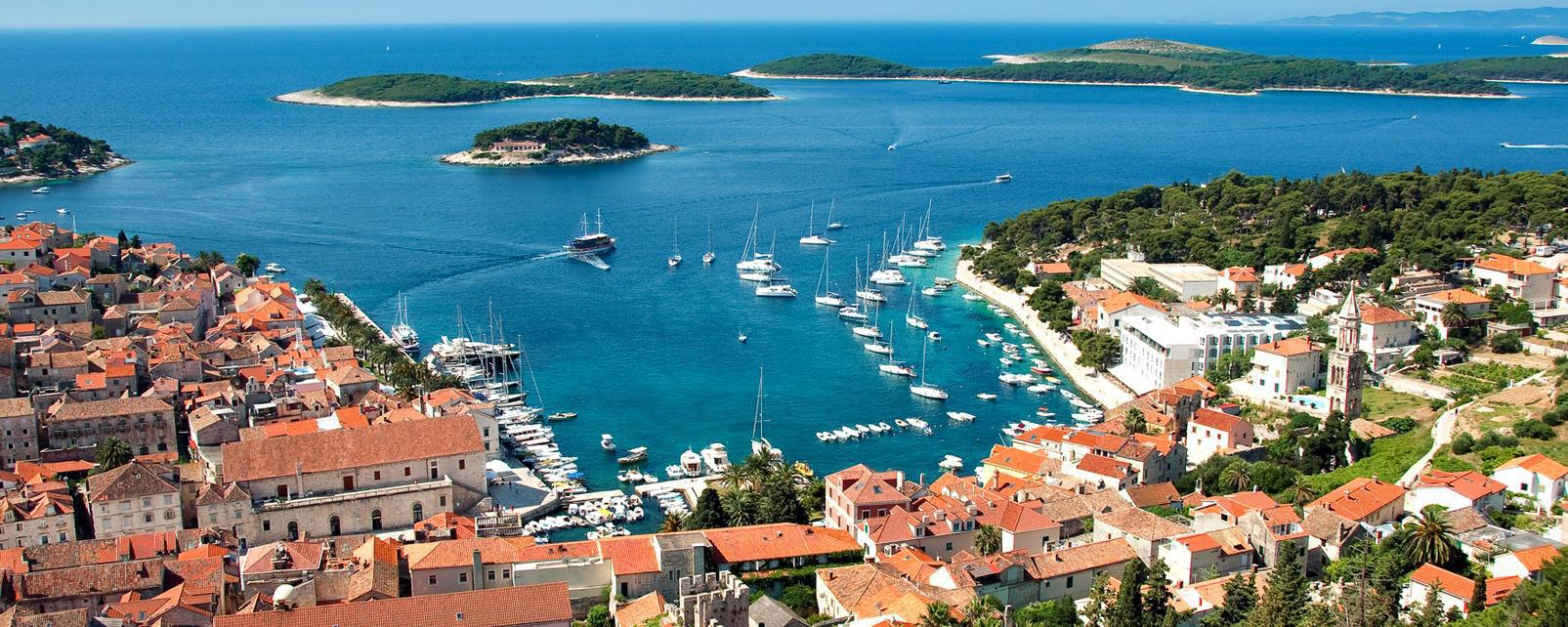Hvar, Croatia - Monterrasol private tours to Hvar, Croatia. Travel agency offers custom private car tours to see Hvar in Croatia. Order custom private tour to Hvar with departure date on request.