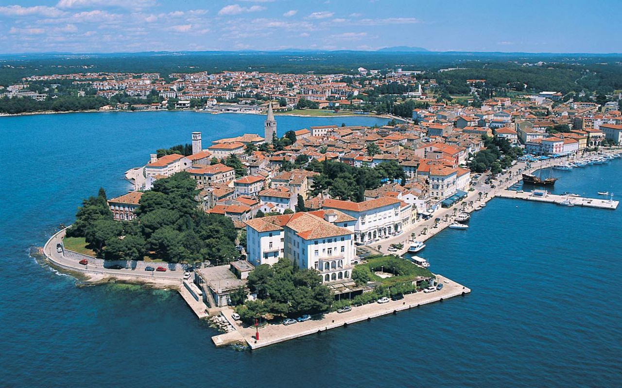 Poreč (Porec), Croatia - Monterrasol private tours to Poreč (Porec), Croatia. Travel agency offers custom private car tours to see Poreč (Porec) in Croatia. Order custom private tour to Poreč (Porec) with departure date on request.