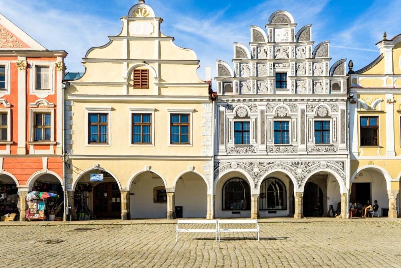 Telč (Telc), Czech Republic - Czech castles and fortresses 22 days tour from Vienna. Private minivan tour by Monterrasol Travel.