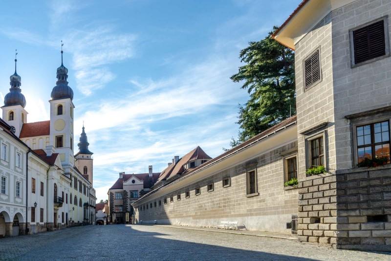 Telč (Telc), Czech Republic - Czech castles 16 days tour from Vienna. Private minivan tour by Monterrasol Travel.