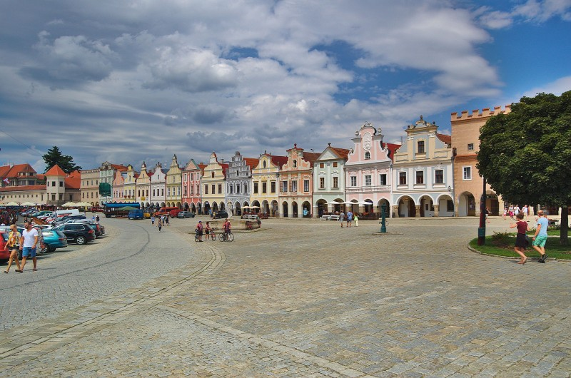 Telč (Telc), Czech Republic - Czech castles 16 days tour from Vienna. Private minivan tour by Monterrasol Travel.