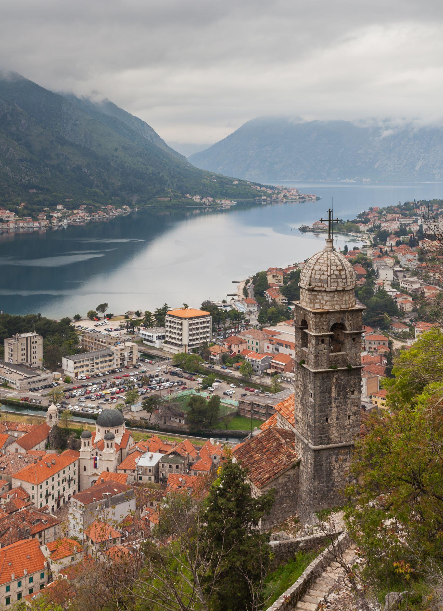 Kotor, Montenegro - All seasons 2 days micro tour from Dubrovnik to visit Montenegro and Bosnia. Private minivan tour by Monterrasol Travel.