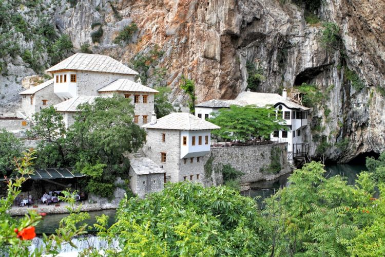 Blagaj, Bosnia and Herzegovina - Monterrasol private tours to Blagaj, Bosnia and Herzegovina. Travel agency offers custom private car tours to see Blagaj in Bosnia and Herzegovina. Order custom private tour to Blagaj with departure date on request.