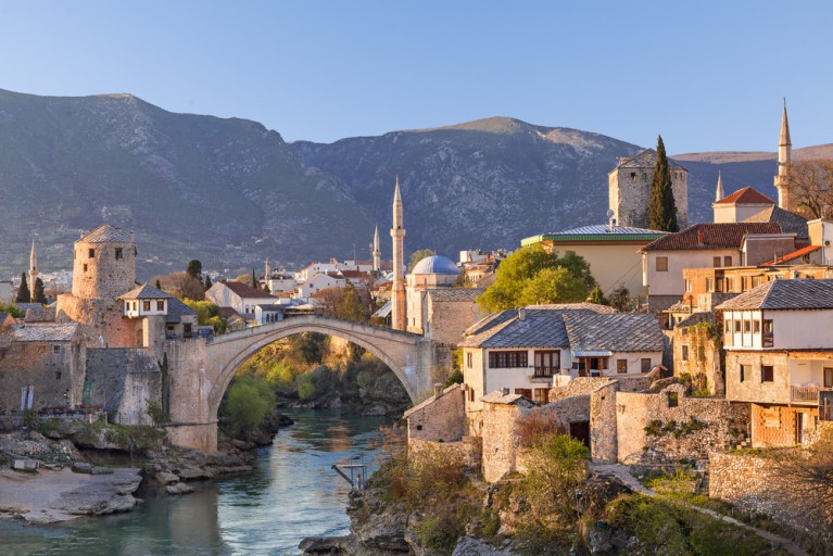Mostar, Bosnia and Herzegovina - Cultural + wine tasting 2 days Bosnia tour from Korcula. Monterrasol Travel car private tour.