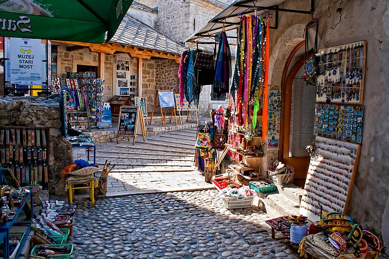 Mostar, Bosnia and Herzegovina - Discover Bosnia in 4 days roadtrip from Split. Private tour with minivan from Monterrasol Travel.