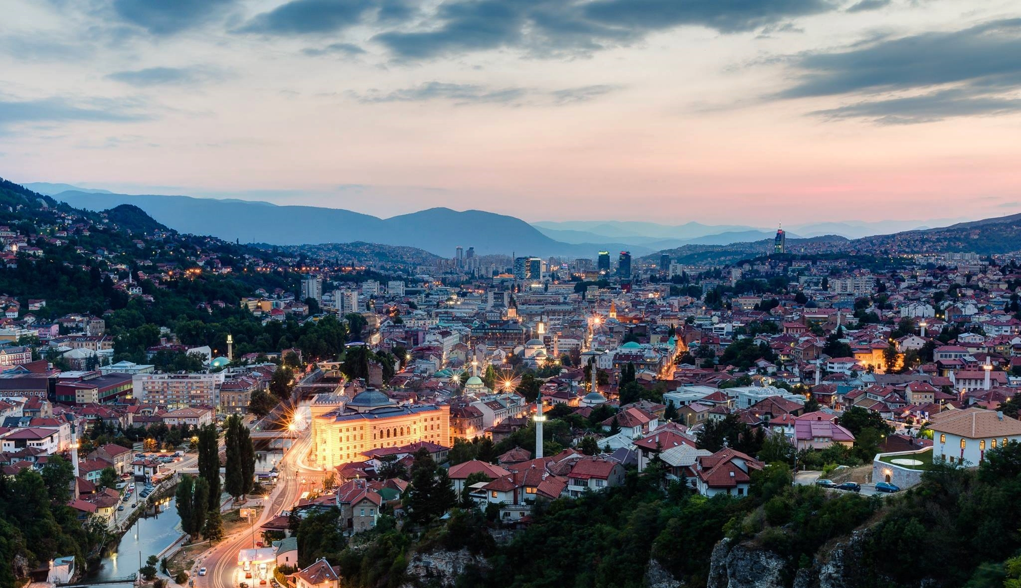 Summer route from Dubrovnik to discover Bosnia and Montenegro. Visit Ostrog monastery, Sarajevo, Mostar, Trebinje. Meet fortresses, monasteries, old towns and cave.