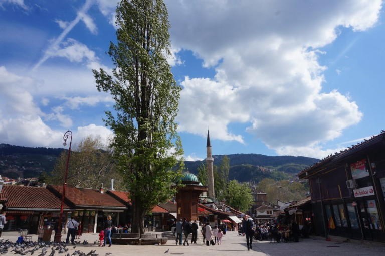 Sarajevo, Bosnia and Herzegovina - All seasons 6 days Bosnia slow travel discovery tour from Split. Private tour with minivan by Monterrasol Travel.
