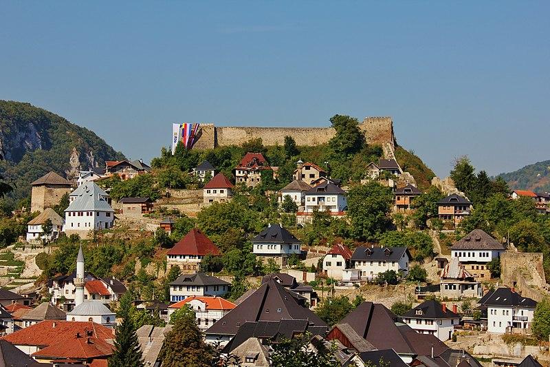 Jajce, Bosnia and Herzegovina - All seasons 17 days Bosnia discovery non-touristy places tour from Tuzla. Private tour with minivan by Monterrasol Travel.