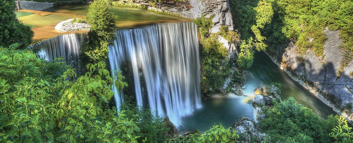 Jajce, Bosnia and Herzegovina - All seasons 9 days tour to discover Bosnia and visit Croatian Dalmatia from Korcula. Private tour by car from Monterrasol Travel.