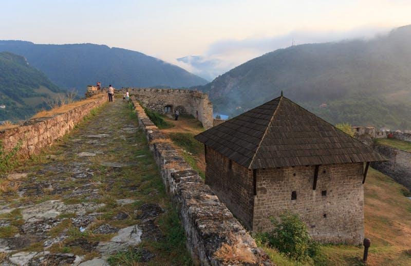 Jajce, Bosnia and Herzegovina - All seasons discovery Bosnia 4 days tour from Sarajevo. Private tour from Monterrasol Travel in minivan.