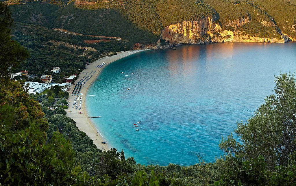Parga, Greece - Discover Greece in 9 days tour from Igoumenitsa. UNESCO sites, castles and monasteries. Monterrasol Travel private car tour.