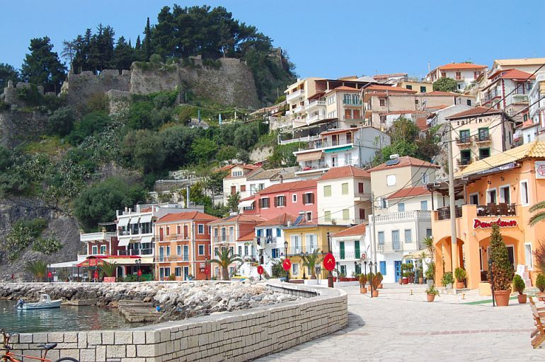 Parga, Greece - Monterrasol private tours to Parga, Greece. Travel agency offers custom private car tours to see Parga in Greece. Order custom private tour to Parga with departure date on request.