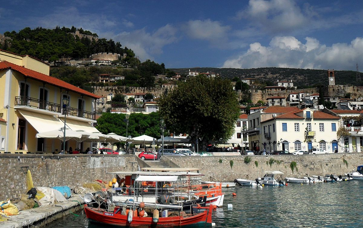 Nafpaktos, Greece - Explore Croatia Bosnia Montenegro Albania Greece by cultural tour 21 days. Monterrasol Travel private minivan tour.