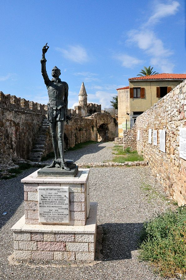 Nafpaktos, Greece - Adriatic Grand tour 29 days from Budapest to Athens. Private tour in minivan by Monterrasol Travel.