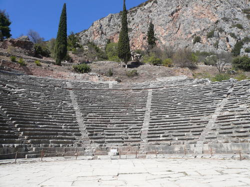 Delphi, Greece - Monterrasol private tours to Greece. Travel agency offers custom private car tours to see Greece in Greece. Order custom private tour to Greece with departure date on request.