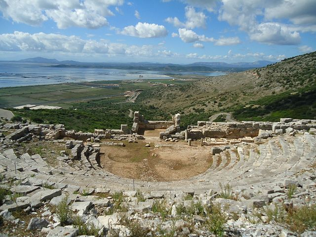 Mesolongi (Messolonghi), Greece - Exploring Montenegro Albania Greece in 15 days tour from Tivat. Monterrasol Travel tour use private minivan.