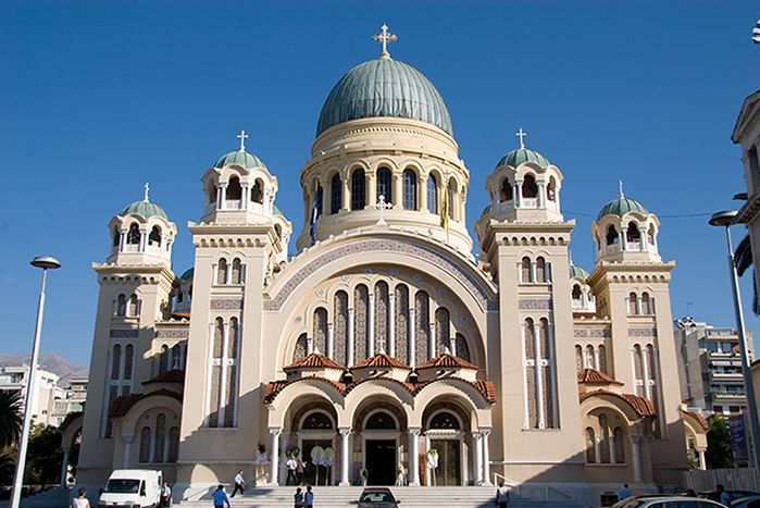 Patras, Greece - Central Greece off-season 24 days tour from Athens. Private tour in minivan by Monterrasol Travel.