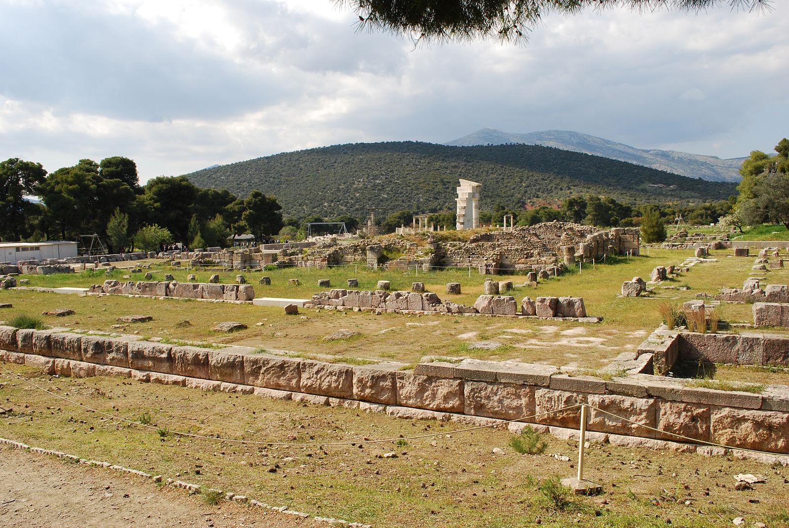 Epidaurus, Greece - Off-season 26 days tour Greece UNESCO sites from Igoumenitsa. Ancient towns, monasteries, castles. Private tour from Monterrasol Travel in minivan.