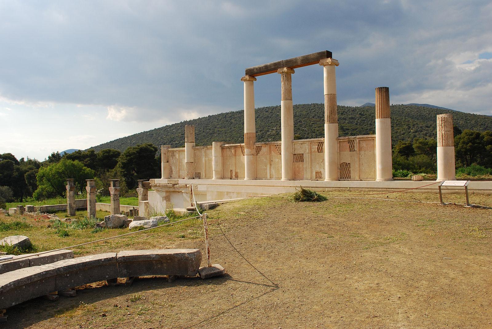 Epidaurus, Greece - Amazing south Balkans 18 days tour from Dubrovnik to Athens. Private minivan tour by Monterrasol Travel.