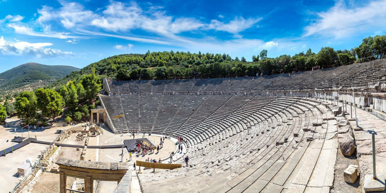 Epidaurus, Greece - Monterrasol private tours to Epidaurus, Greece. Travel agency offers custom private car tours to see Epidaurus in Greece. Order custom private tour to Epidaurus with departure date on request.