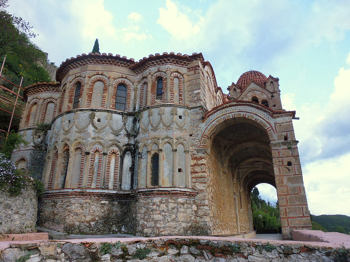 Mystras, Greece - Discover Peloponnese with all seasons 9 days tour from Athens. Monterrasol Travel private tour with minivan.