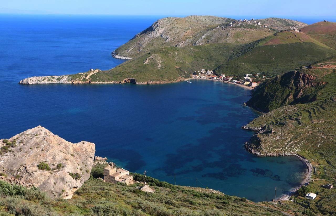 Porto Kagio, Greece - Greece off-season UNESCO places tour 19 days from Athens. Monterrasol Travel private tour in minivan.